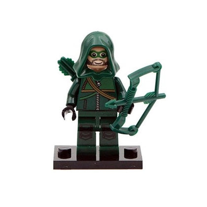 DC Universe - Arrow TV Series - Green Arrow (Zippered Top) Custom Minifigure