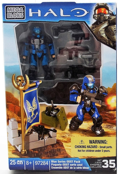 Mega Bloks - HALO - Blue Series ODST Pack Set 35 (97284)
