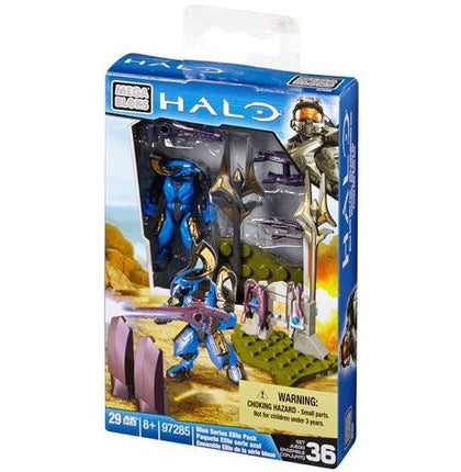 Mega Bloks - HALO - Blue Series Elite Pack Set 36 (97285)