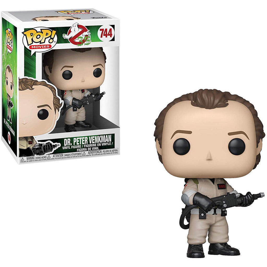 Funko Pop! Movies - Ghostbusters #744 - Dr. Peter Venkman Vinyl Figure