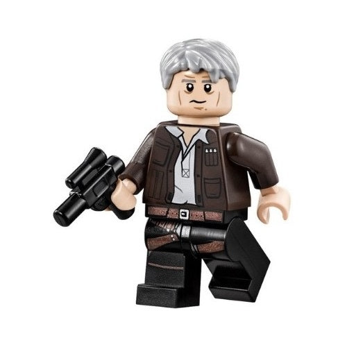 Star Wars - Old Han Solo (The Force Awakens) Custom Minifigure