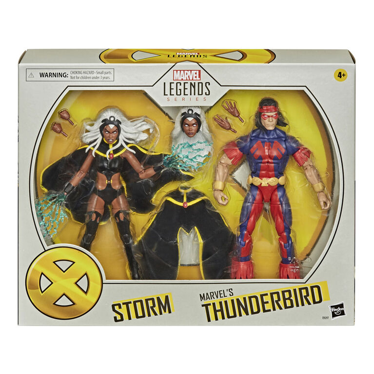 Marvel Legends - X-Men - Storm & Marvel's Thunderbird Action Figures (E9297) Exclusive