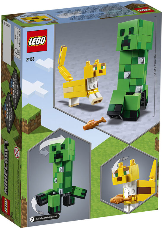LEGO Minecraft - BigFig Creeper and Ocelot (21156) Building Toy