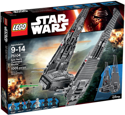 LEGO - Star Wars: The Force Awakens - Lord Kylo Ren's Upsilon-class Command Shuttle (75104)