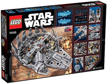 LEGO - Star Wars - The Force Awakens - Millennium Falcon + 7 Minifigures (75105)