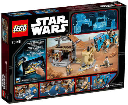 LEGO - Star Wars: The Force Awakens - Encounter on Jakku: Unkar Plutt's Market Stall + Luggabeast + 4 Minifigures (75148)