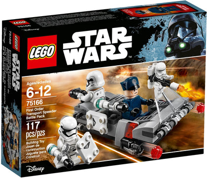 LEGO - Star Wars - The Force Awakens - First Order Transport Speeder Battle Pack (75166)