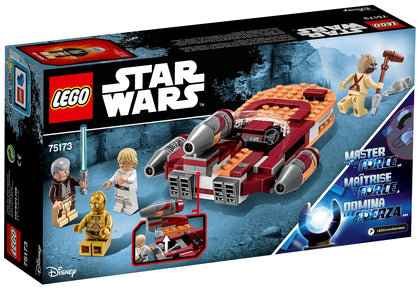 LEGO - Star Wars: Episode IV - A New Hope - Luke's Landspeeder + 4 Minifigures (75173)