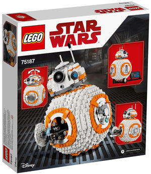 LEGO - Star Wars: The Last Jedi - Large-Scale BB-8 Droid + Display Stand + Decorative Fact Plaque + BB-8 Minifigure (75187)