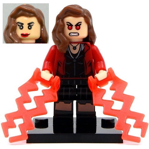 Marvel - Avengers - Scarlet Witch Custom Minifigure
