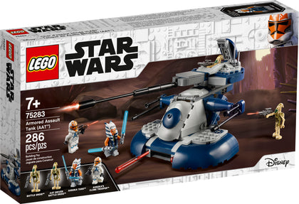 LEGO - Star Wars - Clone Wars - Armored Assault Tank (AAT) and 4 Minifigures (75283)