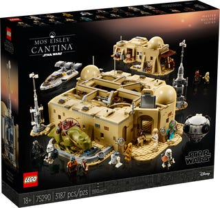 LEGO Star Wars - Mos Eisley Cantina (75290) Building Toy