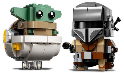 LEGO BrickHeadz - Star Wars: The Child & The Mandalorian (75317) Building Toy