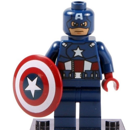Marvel - Avengers - Captain America (The Avengers) Custom Minifigure