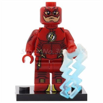 DC Universe - The Flash TV Series - The Flash (Blue Electro-Blast) Custom Minifigure
