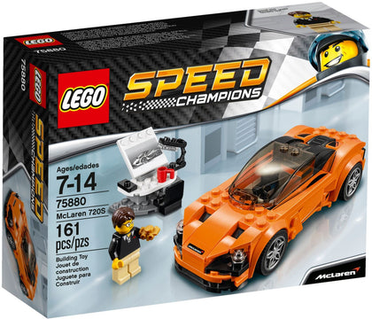 LEGO - Speed Champions - McLaren 720S Racing Car + Design Studio (75880)