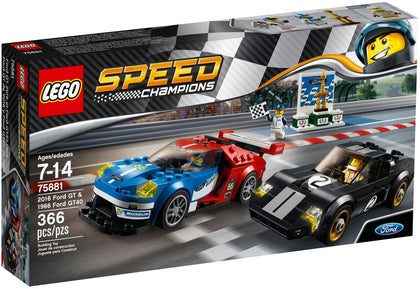 LEGO - Speed Champions - 2016 Ford GT & 1966 Ford GT40 (75881)