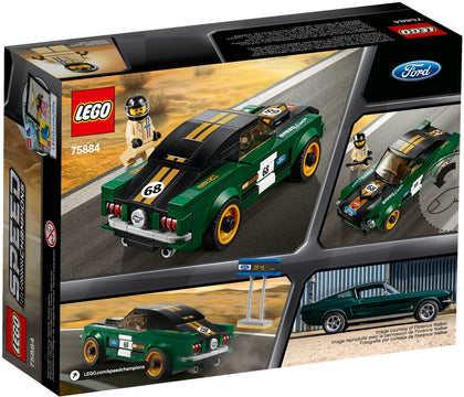 LEGO - Speed Champions - 1968 Ford Mustang Fastback (75884)