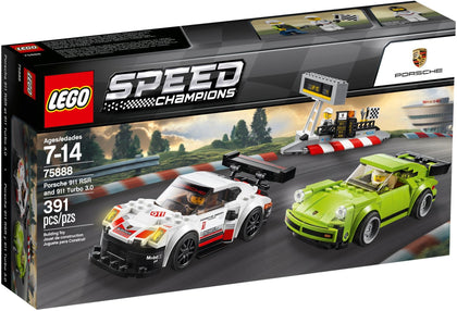 LEGO - Speed Champions - Porsche 911 RSR and 911 Turbo 3.0 (75888)