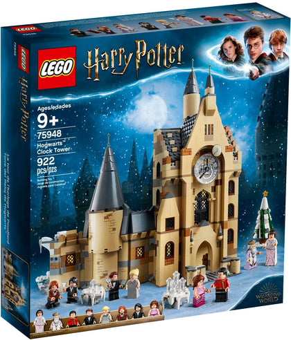 LEGO - Harry Potter / Wizarding World - Hogwarts Clock Tower + 8 Minifigures (75948)