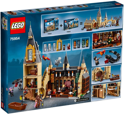 LEGO - Harry Potter / Wizarding World - Hogwarts Great Hall with Tower and 16 Figures (75954)
