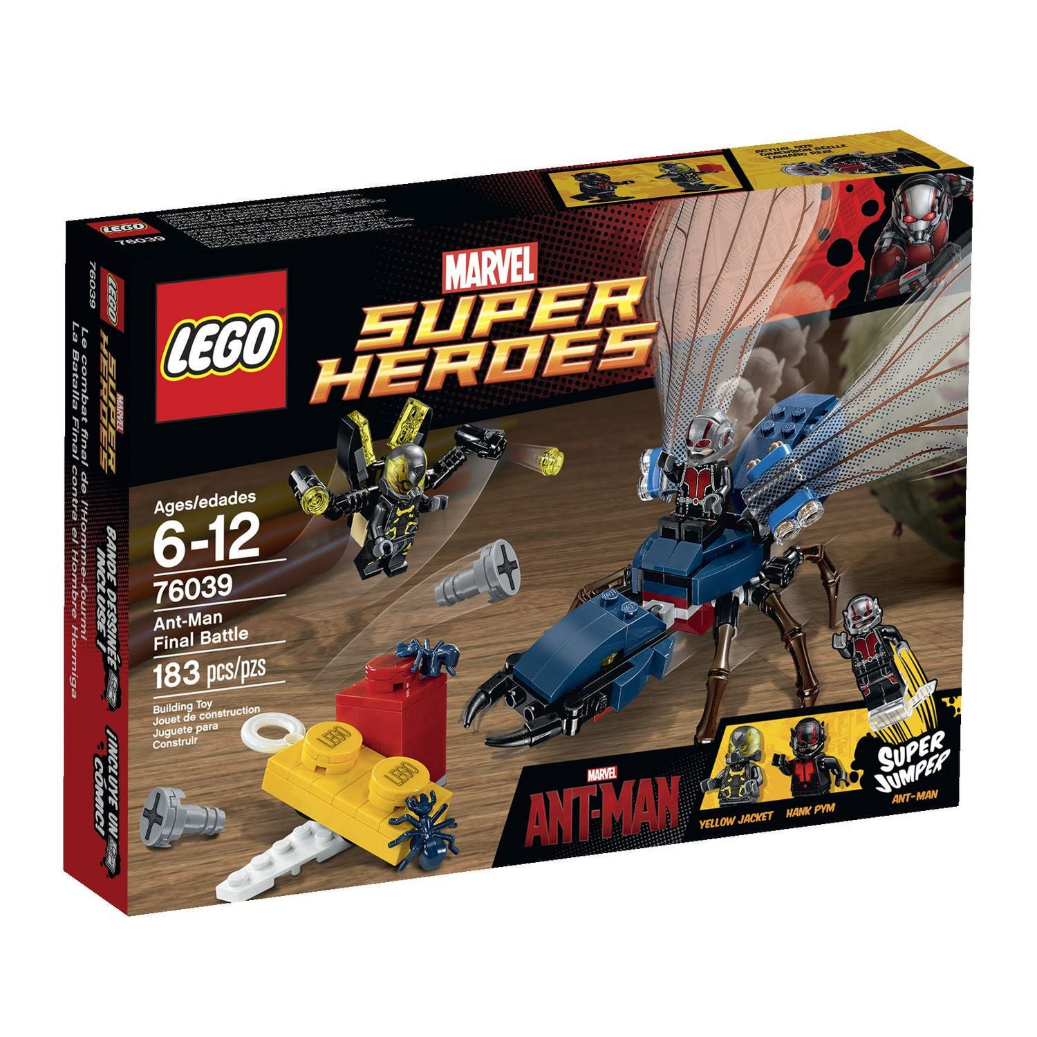 LEGO Marvel Super Heroes - Ant-Man Final Battle (76039)