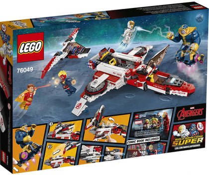 LEGO - Marvel Super Heroes - Avengers - Avenjet Space Mission: Jet + Mini-jet + 5 Figures (76049)