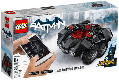 LEGO - DC Super Heroes - Batman - Powered Up Bluetooth RC App-Controlled Batmobile (76112)