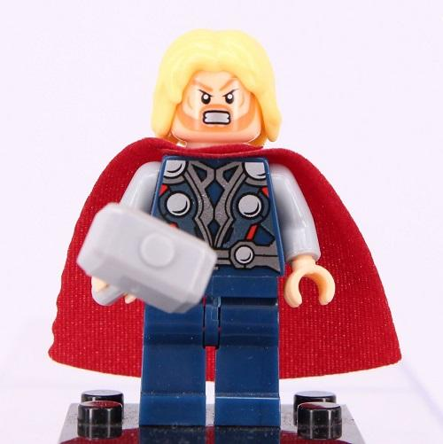 Marvel Avengers - Thor (Clenched Teeth & Determined Expressions) Custom Minifigure
