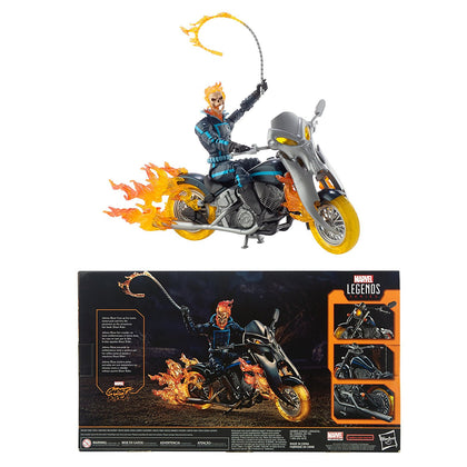 Marvel Legends - Ultimate Riders - Ghost Rider Action Figure with Motorcycle (E1373)