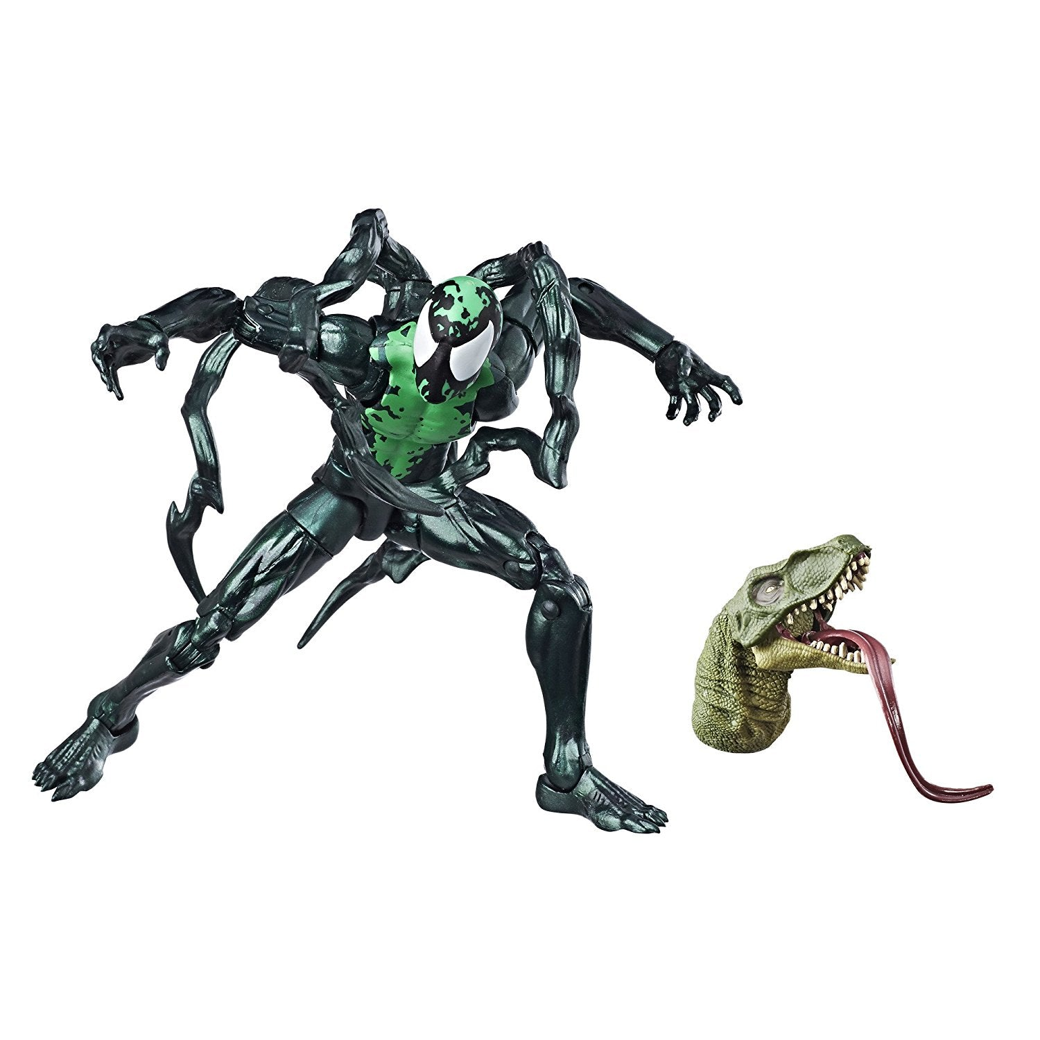 Marvel Legends - Marvel's Lizard BAF - Spider-Man - Marvel's Lasher Action Figure (E2621)