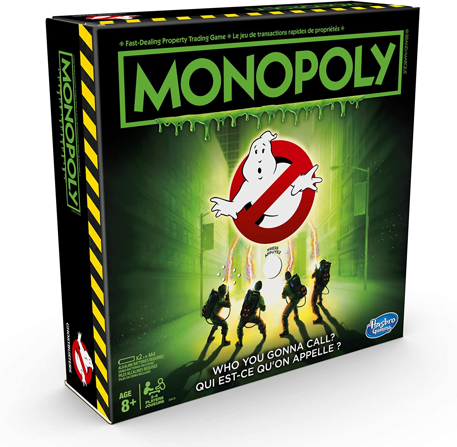 Hasbro Gaming - Monopoly Ghostbusters Edition Board Game