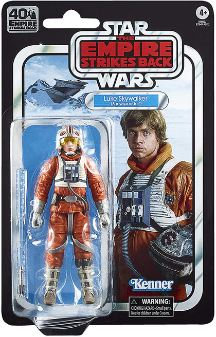 Star Wars: The Black Series - Empire Strikes Back - Luke Skywalker (Snowspeeder) Action Figure (E9252)