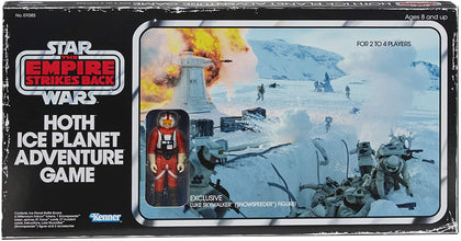 Hasbro Gaming - Star Wars: The Empire Strikes Back - Hoth Ice Planet Adventure Game