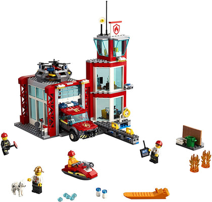 LEGO City - Fire Station (60215) Building Toy