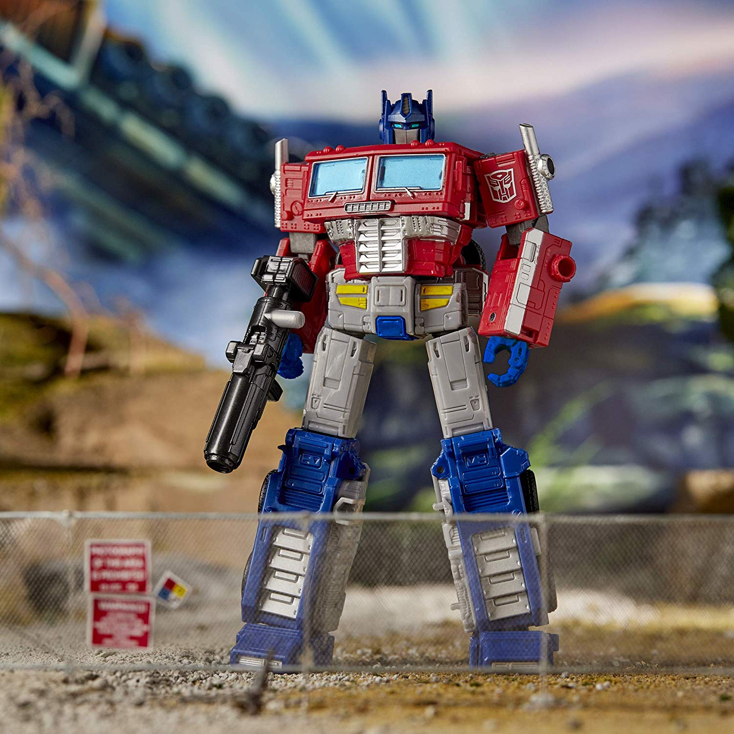 Transformers - War for Cybertron: EARTHRISE - Optimus Prime Action Figure (WFC-E11 - E7166)