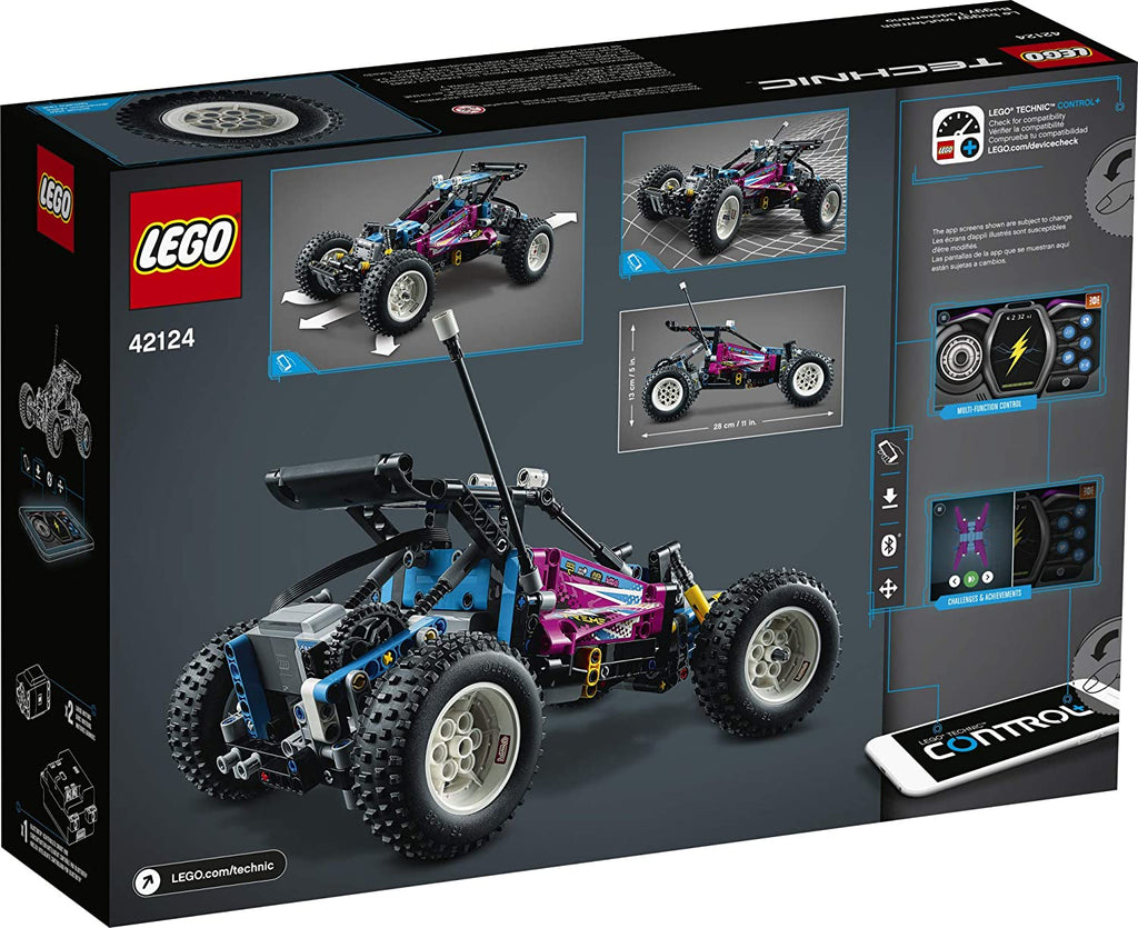 LEGO Technic - Off-Road Buggy (42124) Building Toy