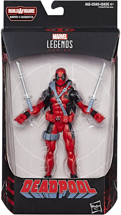 Marvel Legends - Marvel's Sasquatch Series - Deadpool - Deadpool Action Figure (E1565)