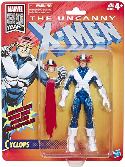 Marvel Retro Collection - The Uncanny X-Men - Cyclops (E6110) Action Figure