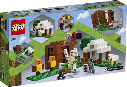 LEGO Minecraft - The Pillager Outpost (21159) Building Toy