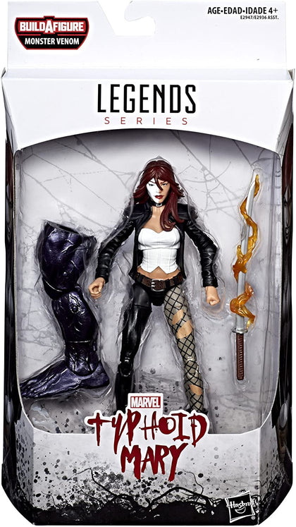 Marvel Legends - Monster Venom BAF - Venom - Typhoid Mary 6-Inch Action Figure (E2947)