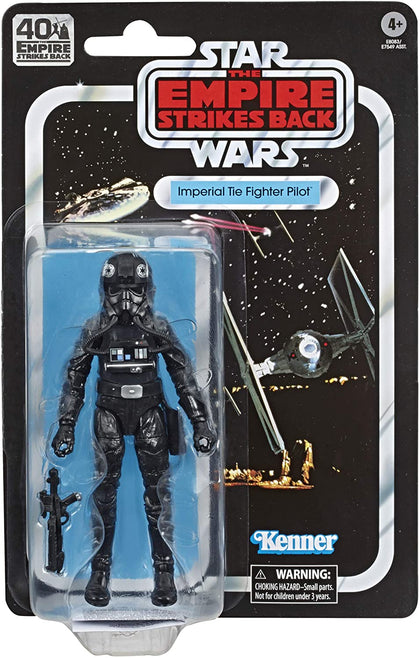 Star Wars: The Black Series - Empire Strikes Back - Imperial Tie Fighter Pilot Action Figure (E8083)