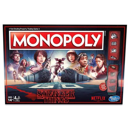 Hasbro Gaming - Monopoly: Stranger Things Edition Board Game