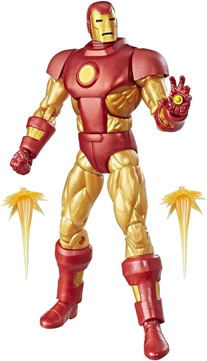 Marvel Legends - Retro Collection - Series 1 - Iron Man (E3998) Action Figure