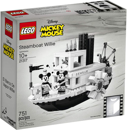 LEGO Ideas 025 - Steamboat Willie (21317) Building Toy