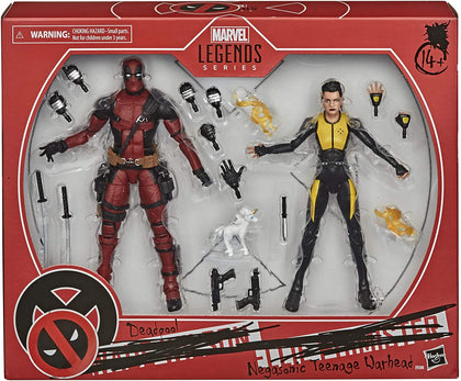 Marvel Legends - Deadpool and Negasonic Teenage Warhead (E2988) Action Figures