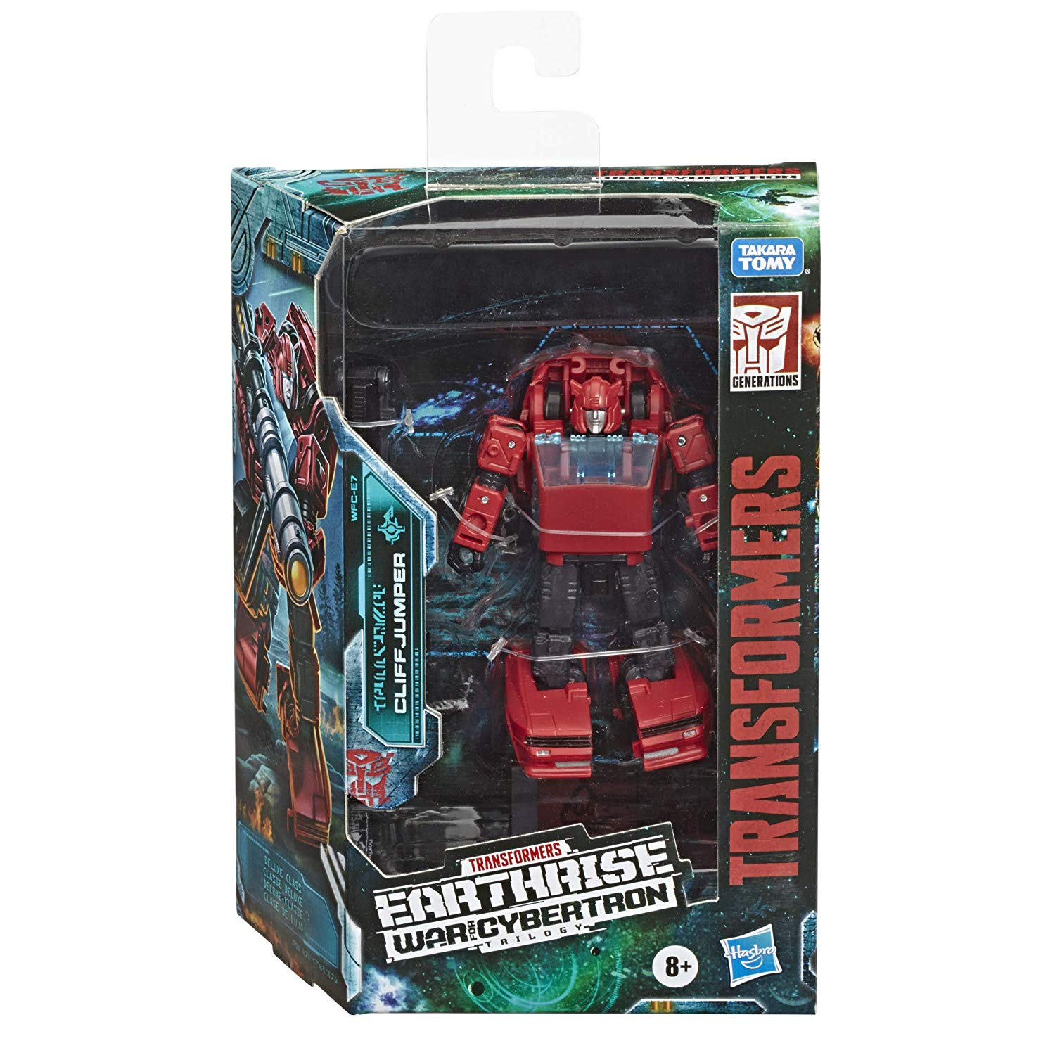 Transformers Generations - War for Cybertron: Earthrise - Cliffjumper Action Figure (WFC-E7)