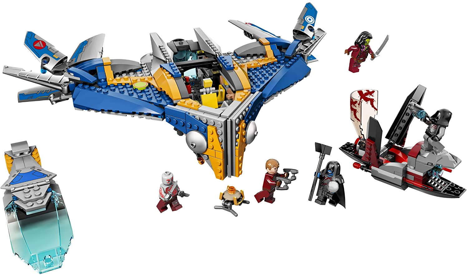 LEGO Marvel Super Heroes - The Milano Spaceship (76021) Building Toy RETIRED