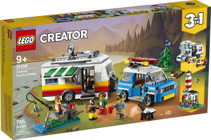 LEGO Creator - Caravan Family Holiday (31108) 3-in-1 Building Toy