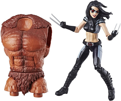 Marvel Legends - Marvel's Sasquatch Series - Deadpool - X-23 Action Figure (E1569)